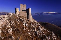 Rocca Calascio, L'Aquila, Italy Fotografia de Stock Royalty Free