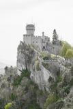 Rocca Cesta lub Po drugie Basztowy w San Marino republiki San marino Zdjęcie Royalty Free