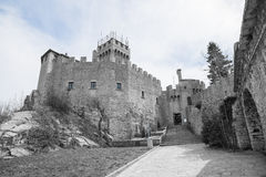 Rocca Cesta ou deuxième tour au Saint-Marin Le Republic Of San Marino Photos stock