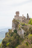 Rocca Cesta or Second Tower in San Marino.Republic of San Marino Royalty Free Stock Photos