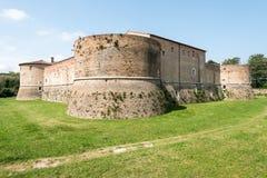Rocca Costanza - Pesaro Italien Fotografering för Bildbyråer
