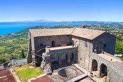 Rocca dei Papi. Montefiascone. Lazio. Italy. Stock Photo