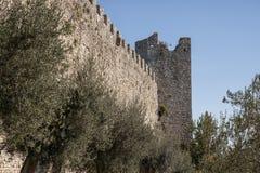 Rocca del Leone, medieval fortress in Castiglione del Lago, Trasimeno Lake - Umbria/Italy. Stock Photos