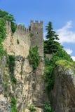Rocca-della Guaita stockfotografie