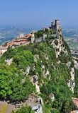 Rocca della Guaita castle Royalty Free Stock Photos