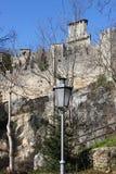 Rocca della Guaita w San Marino republice Zdjęcia Royalty Free