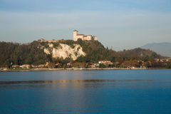 Rocca di Angera Stock Photography