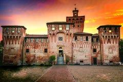 Rocca Di Cento, Ferrara Italië royalty-vrije stock foto