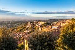 Rocca di Far, Romani Catelli, Italien Arkivfoto