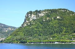 Rocca di Garda at Lake Garda, Italy Royalty Free Stock Image