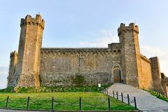 Rocca di Montalcino Stock Photography