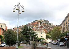 Rocca di Papa, part of Castelli Romani, Italy Royalty Free Stock Images
