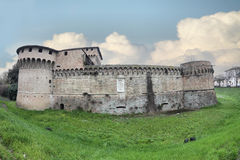 The Rocca di Ravaldino in Forli, Italy. The Rocca di Ravaldino,Caterina Sforza castle in Forli, Italy Royalty Free Stock Images