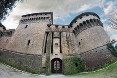 The Rocca di Ravaldino in Forli, Italy. The Rocca di Ravaldino,Caterina Sforza castle in Forli, Italy Royalty Free Stock Image