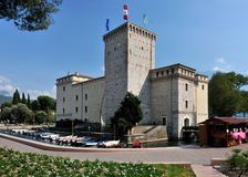 Rocca di Riva Castle Royalty Free Stock Photos