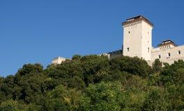 Rocca di Spoleto Fotografia Stock
