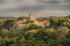 Rocca di Staggia royalty free stock photography