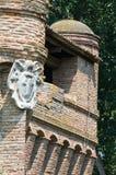 Rocca di Stellata. Bondeno. Emilia-Romagna. Italy. Stock Photography