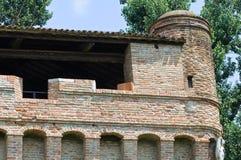 Rocca di Stellata. Bondeno. Emilia-Romagna. Italy. Stock Photos