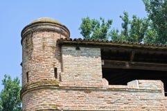 Rocca di Stellata. Bondeno. Emilia-Romagna. Italy. Royalty Free Stock Photo