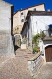 Rocca Duca di Poggiardo Satriano di Lucania L'Italia Immagini Stock Libere da Diritti