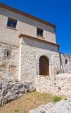 Rocca Duca di Poggiardo Satriano di Lucania l'Italie Image libre de droits