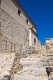 Rocca Duca di Poggiardo Satriano di Lucania l'Italie Images stock