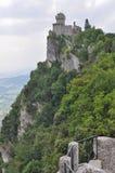 Rocca Guaita San Marino Royaltyfri Fotografi