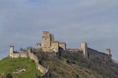 Rocca Maggiore à Assisi Photographie stock