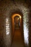 Rocca Maggiore, Assisi, Italie Image stock