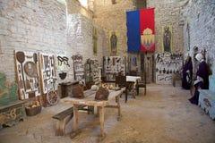 Rocca Maggiore, Assisi, Italie Photos stock