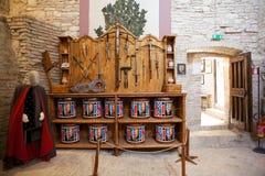 Rocca Maggiore, Assisi, Italy Foto de Stock