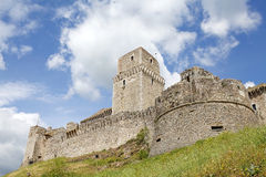Rocca Maggiore, Assisi, Italy Stock Photo