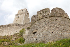 Rocca Maggiore, Assisi, Italy Royalty Free Stock Images
