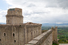 Rocca Maggiore, Assisi, Italy Royalty Free Stock Photography