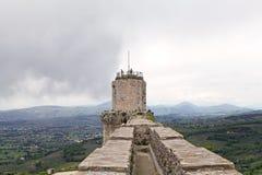 Rocca Maggiore, Assisi, Italy Stock Photos