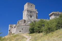 Rocca Maggiore. Assisi. Umbria. Stock Photography