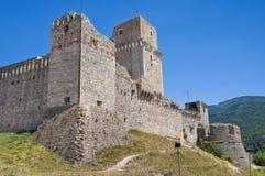 Rocca Maggiore. Assisi. Umbria. Stock Image