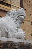 Rocca Meli Lupi Soragna. emilia. Włochy. Obraz Royalty Free