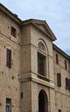 Rocca Meli Lupi Soragna. emilia. Włochy. Zdjęcia Stock