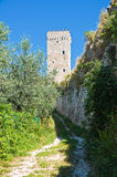 Rocca Minore. Assisi. Umbria. Italy. Stock Photos