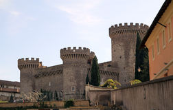 Rocca Pia Castle Stock Photography