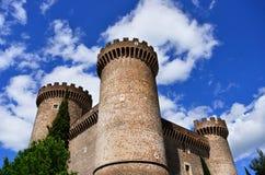Rocca Pia in Tivoli Lizenzfreies Stockfoto