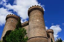 Rocca Pia in Tivoli Lizenzfreie Stockfotos