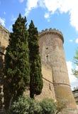Rocca Pia in Tivoli - Italy Stock Photos