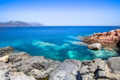 Rocca Rossa on Sardinia Island, Italia Royalty Free Stock Image