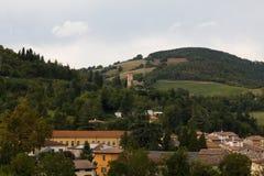 Rocca San Casciano Village Royalty Free Stock Photo