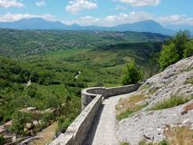 Rocca San Felice - Panorama from the castle Royalty Free Stock Image