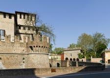 Rocca Sanvitale em Fontanellato imagens de stock royalty free
