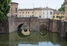 Rocca Sanvitale. Fontanellato. Emilia-Romagna. Ita Royalty Free Stock Image